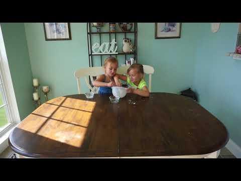 Mali and Sylvia make no borax bouncy balls