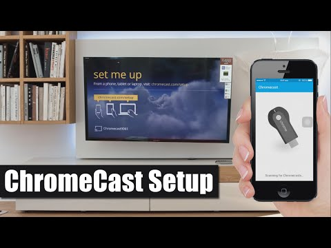 ChromeCast Setup to TV using SmartPhone [How To]