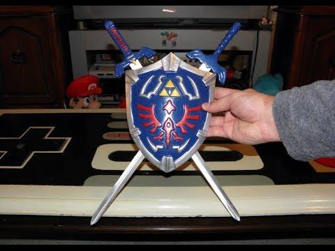 Zelda Shield and Master Sword Set