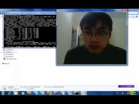 Convert Mp4 to flv using ffmpeg