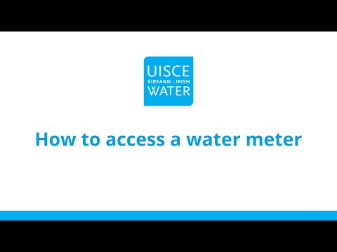 How to access a water meter | Metering explained | Irish Water
