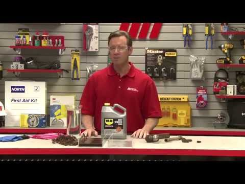 Tom's Toolbox - WD-40 - How to Effectively Remove Rust with WD-40 Rust Remover Soak