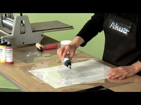 An Intro to Akua Kolor and Monotype Printing