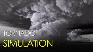 The most detailed simulation of a tornado