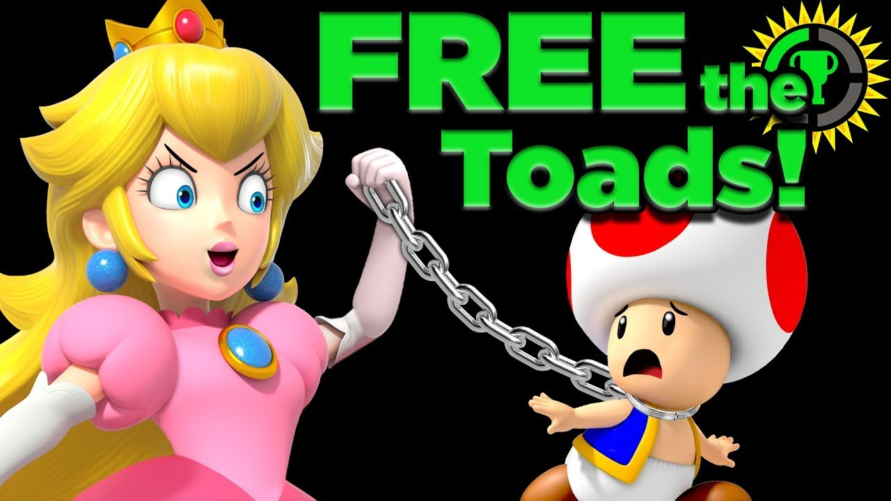 Game Theory: Peach's Castle of LIES! (Super Mario Maker 2)