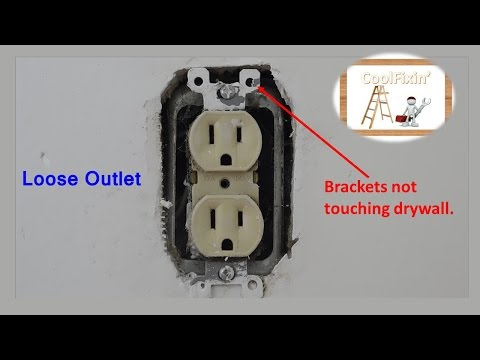Easy Loose Outlet/Switch Repair