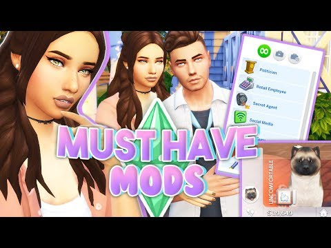 MY MUST HAVE MODS💜 // The Sims 4 | + ALL THE LINKS