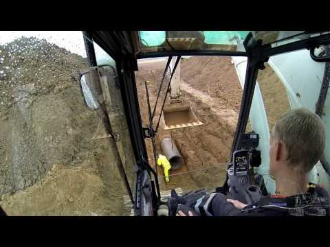 Laying 700 Concrete Sewer Pipe: The Whole Experience