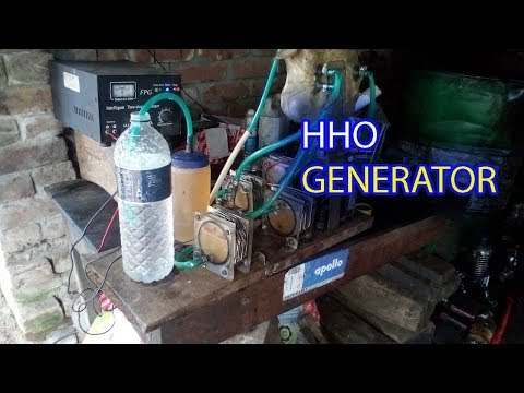 Part-2 HHO Generator - Water to Fuel Converter | Dry cell | hydrogen gas | Tutorial