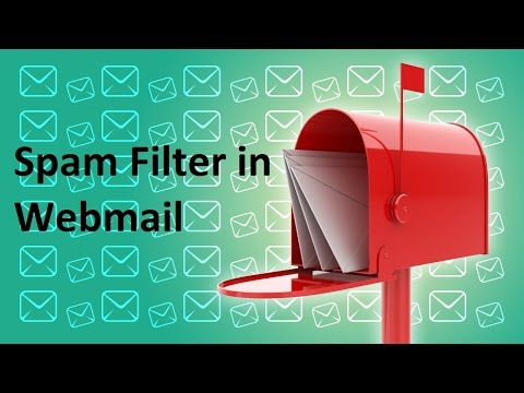 How to Create a Filter for Spam Email in Webmail