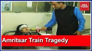 #AmritsarTrainTragedy Victim Speaks To India Today On Her Ordeal