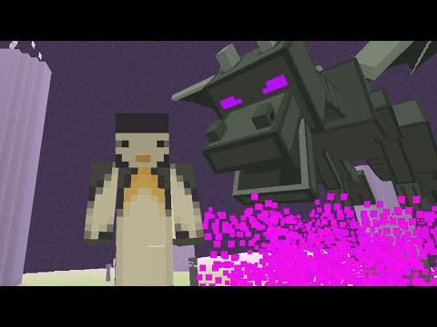 Minecraft Xbox - Stampy Flat Challenge - Ender Dragon [Part 12]