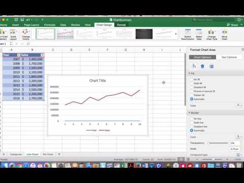 Chart Types in Excel