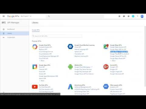 How to get your Google API key for