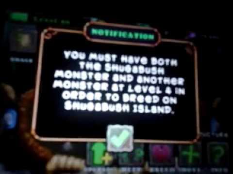 How to teleport a potbelly to a shugabush island