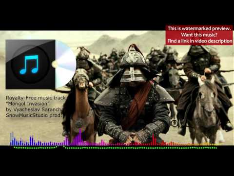 Ethnic background music - Mongol Invasion / Royalty-Free music (watermarked preview)