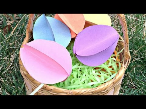 Create Simple Paper Easter Eggs - DIY Crafts - Guidecentral