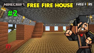 Free Fire L Shape House in Minecraft Must Watch - Minecraft