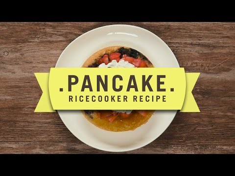Cuckoo Rice Cooker Recipe: Pancake