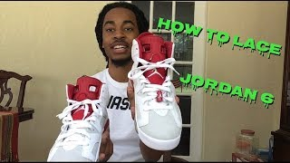 2aca92761f6450 how to lace the jordan 6 s Videos - 9tube.tv