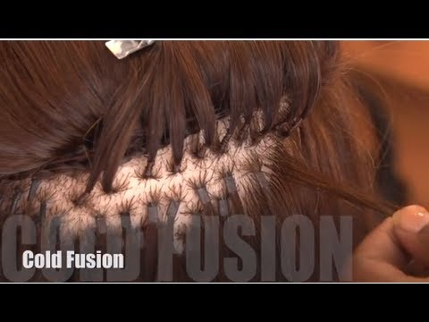 How To: Apply Cold Fusion Hair Extensions