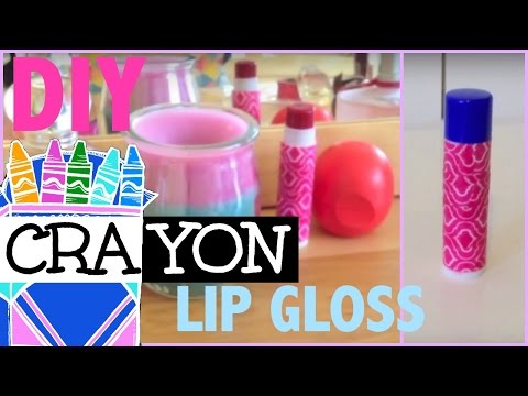 DIY CRAYON LIP BALM