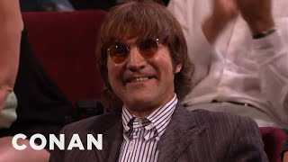 Audience Member Theme Songs: Time-Travelling John Lennon Edition  - CONAN on TBS