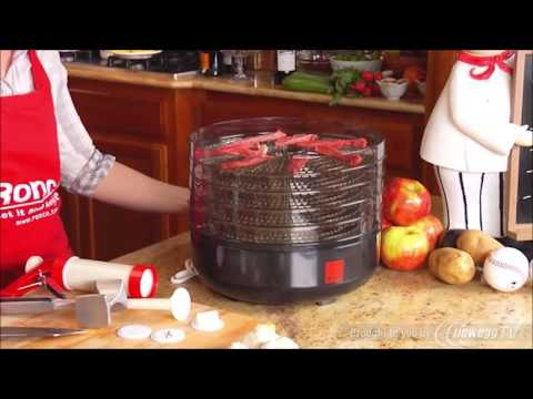 Ronco Beef Jerky Machine & Food Dehydrator - Product Tour