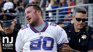 Unruly Giants fan beaten up by cops at 49ers game