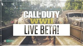 Cod Ww2 Beta Gameplay Live | Join The Hype!! 🔥