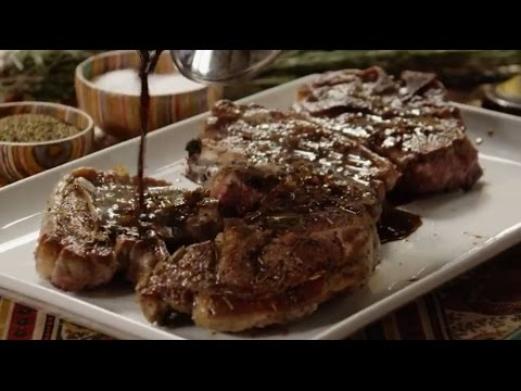 How to Make Lamb Chops with Balsamic Reduction | Christmas Recipes | Allrecipes.com