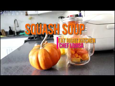 How to Make a Dairy-Free Butternut Squash Soup