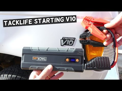 TACKLIFE T8 MAX PORTABLE JUMP STARTER PRODUCT REVIEW