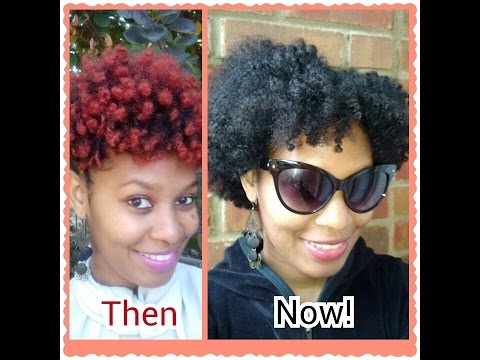 Fab Natural Hair: From Red to Dark Brown! (Part 1)