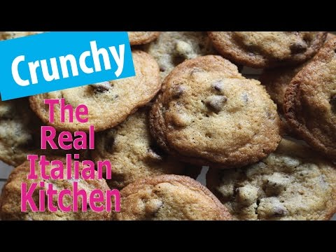 Crispy and Thin Chocolate Chip Cookies Recipe  - Real Italian Kitchen