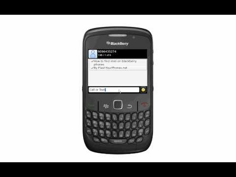 How to find IMEI on Blackberry Phones for Unlock
