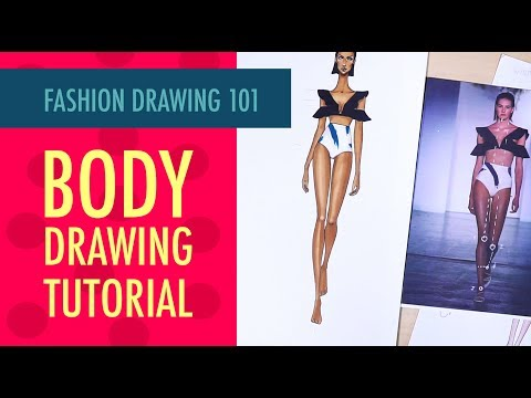 FASHION ILLUSTRATION 101: HOW TO DRAW FEMALE FASHION FIGURE + SKIN RENDERING