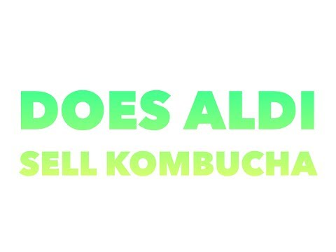 Does aldi sell kombucha