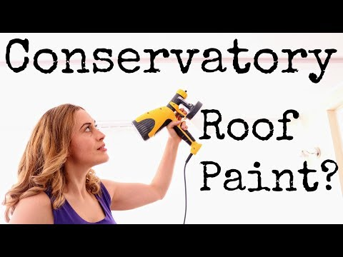 Solar Reflective Paint: Conservatory Roof Blind Alternative?