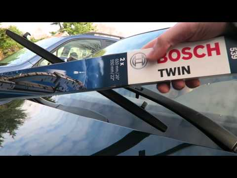 BMW E39 5 Series Wiper Blade Removal and Installation