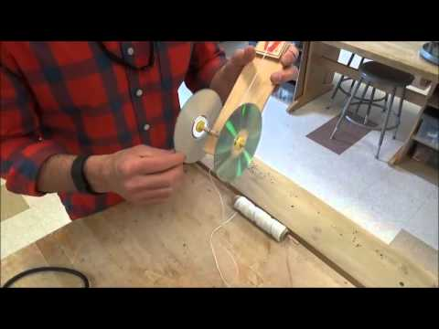Mousetrap Car Video #5 (Attaching String and loading)