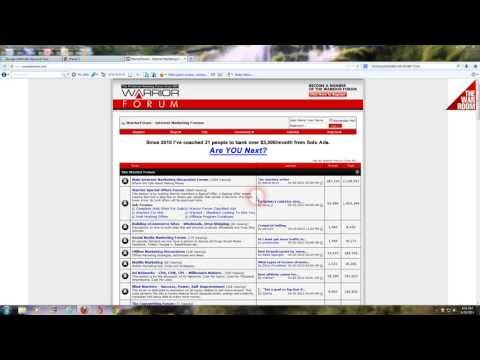 Warriorforum Review And Tutorial Learn All About The #1 Internet Marketing Forum The Warriorforum