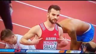Skandal na Evropskom prvenstvu, Albanac rukama pokazao Dvoglavog orla