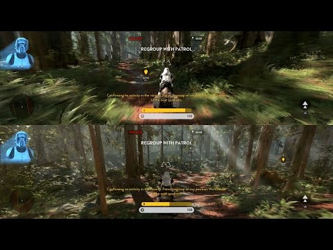 Star Wars BattleFront How To Play Split Screen/Co-op