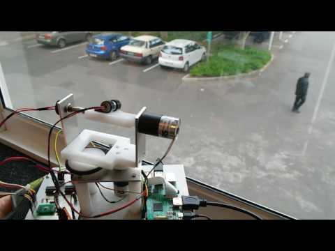 Laser Tracking System -using OpenCV 3 1 and Raspberry Pi 3