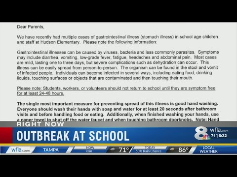 Stomach bug hits Pasco school