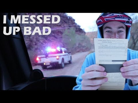 You're NEVER GONNA BELIEVE Why this Cop gave me a ticket...