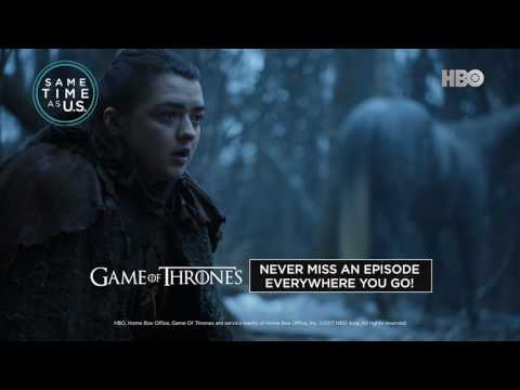 Game of Thrones Anytime, Anywhere with HBO Go