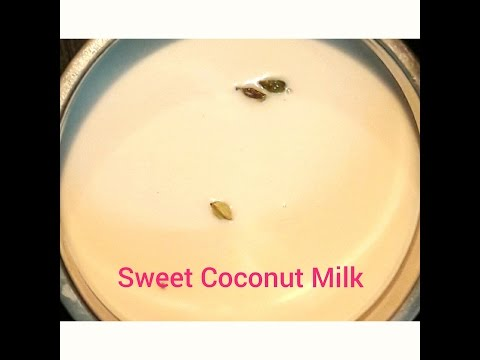 how to make Sweet Coconut Milk/Thengai paal for appam,idiyappam,santhavai