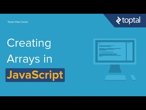JavaScript Video Tutorial - Creating Arrays in Javascript